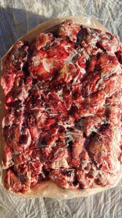 Мясо голов говяжье