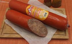 """Колбаса """"Пёс барбос""""с морковью"""